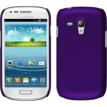Hardcase for Samsung Galaxy S3 Mini rubberized purple