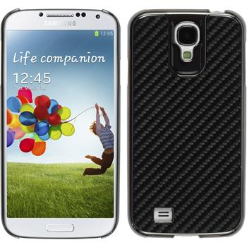 Hardcase for Samsung Galaxy S4 carbon optics black