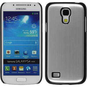 Hardcase for Samsung Galaxy S4 Mini metallic silver