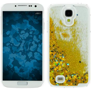 Hardcase for Samsung Galaxy S4 Stardust gold