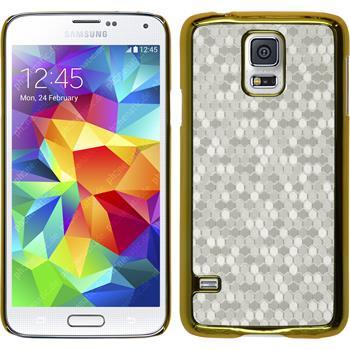 Hardcase for Samsung Galaxy S5 hexagon white