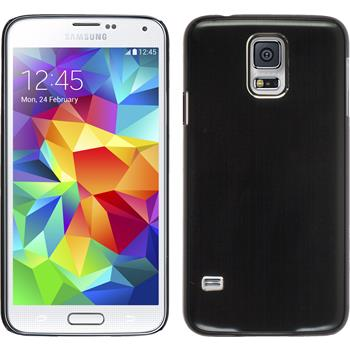 Hardcase for Samsung Galaxy S5 metallic black