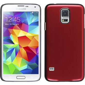 Hardcase for Samsung Galaxy S5 metallic red