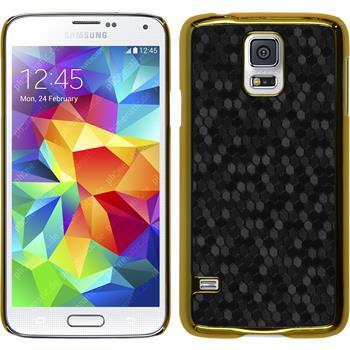 Hardcase for Samsung Galaxy S5 mini hexagon black