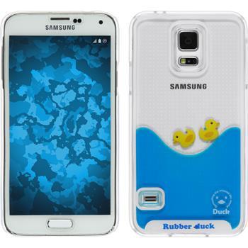 Hardcase for Samsung Galaxy S5 Neo Ducklings Design:01