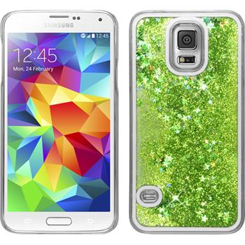 Hardcase for Samsung Galaxy S5 Neo Stardust green