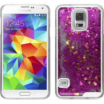 Hardcase for Samsung Galaxy S5 Neo Stardust hot pink