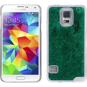 Hardcase for Samsung Galaxy S5 Stardust green