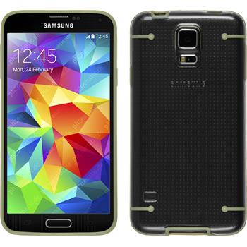 Hardcase for Samsung Galaxy S5 transparent beige