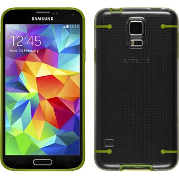 Hardcase for Samsung Galaxy S5 transparent green