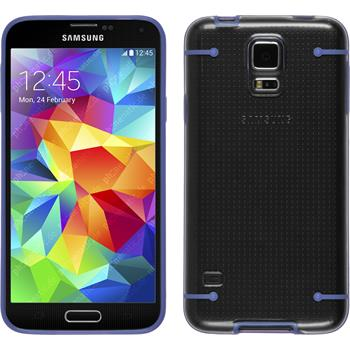 Hardcase for Samsung Galaxy S5 transparent purple