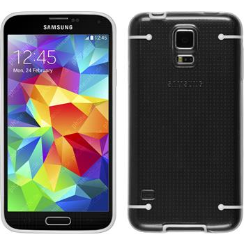 Hardcase for Samsung Galaxy S5 transparent white