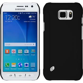 Hardcase for Samsung Galaxy S6 Active rubberized black