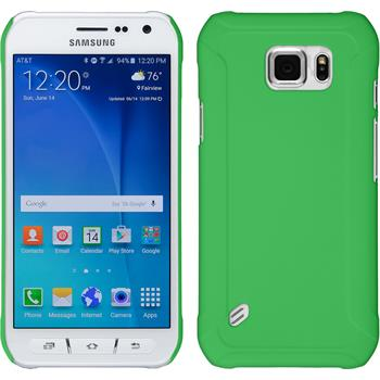 Hardcase for Samsung Galaxy S6 Active rubberized green