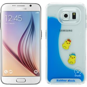 Hardcase for Samsung Galaxy S6 Ducklings Design:02