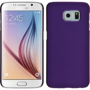Hardcase for Samsung Galaxy S6 rubberized purple