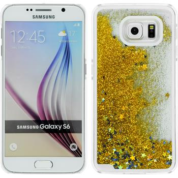 Hardcase for Samsung Galaxy S6 Stardust gold