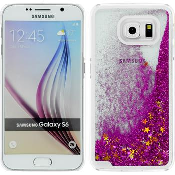 Hardcase for Samsung Galaxy S6 Stardust hot pink