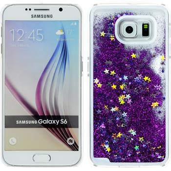 Hardcase for Samsung Galaxy S6 Stardust purple