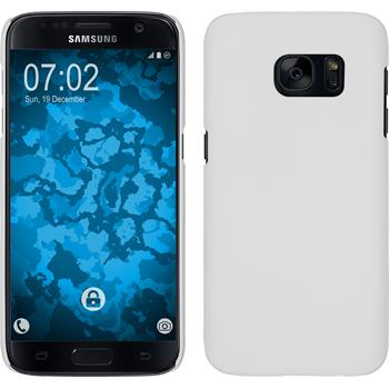 Hardcase for Samsung Galaxy S7 rubberized white