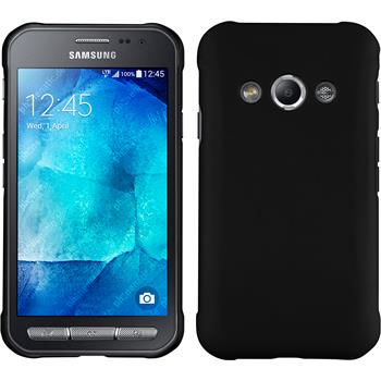 Hardcase for Samsung Galaxy Xcover 3 rubberized black