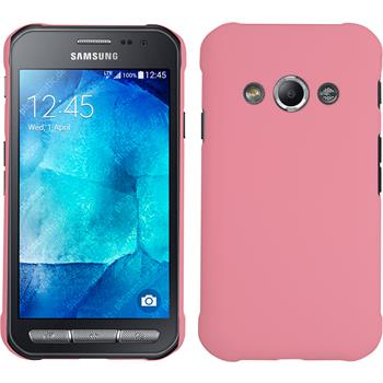 Hardcase for Samsung Galaxy Xcover 3 rubberized pink