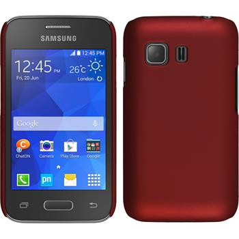 Hardcase for Samsung Galaxy Young 2 rubberized red