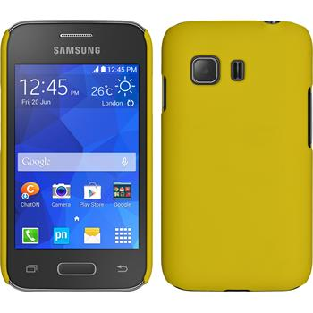 Hardcase for Samsung Galaxy Young 2 rubberized yellow