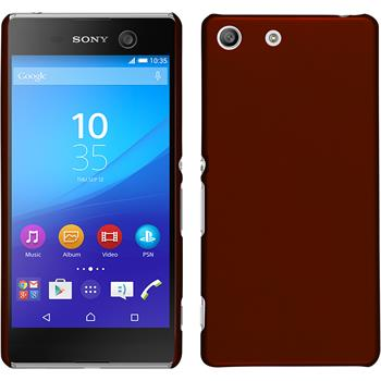 Hardcase for Sony Xperia M5 rubberized red