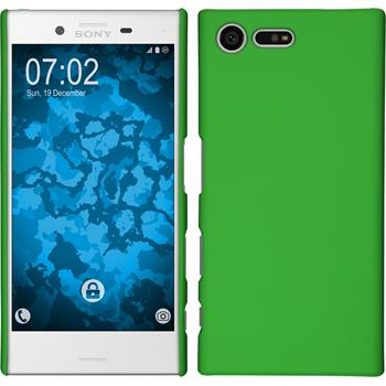 Hardcase for Sony Xperia X Compact rubberized green