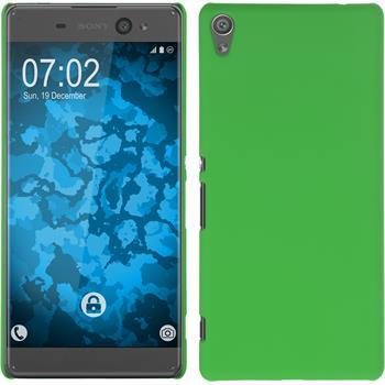 Hardcase for Sony Xperia XA Ultra rubberized green