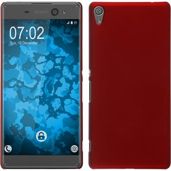 Hardcase for Sony Xperia XA Ultra rubberized red