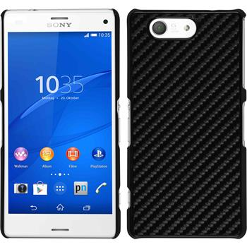 Hardcase for Sony Xperia Z3 Compact carbon optics black