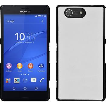 Hardcase for Sony Xperia Z3 Compact leather optics white