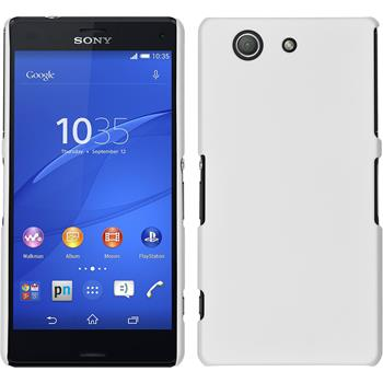 Hardcase for Sony Xperia Z3 Compact rubberized white