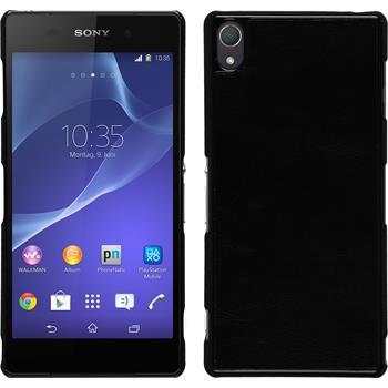 Hardcase for Sony Xperia Z3 leather optics black