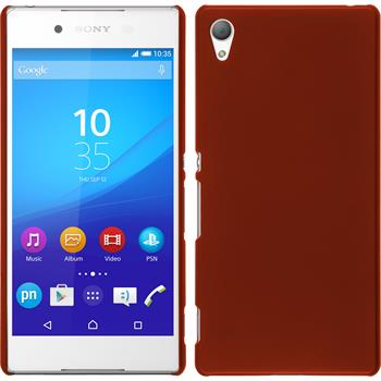 Hardcase for Sony Xperia Z3+ rubberized red