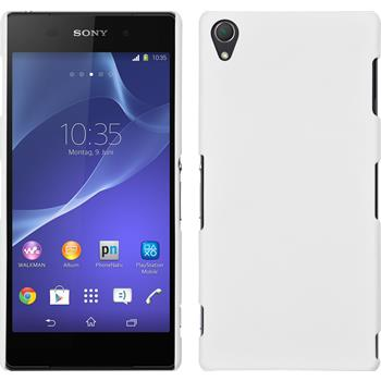 Hardcase for Sony Xperia Z3 rubberized white