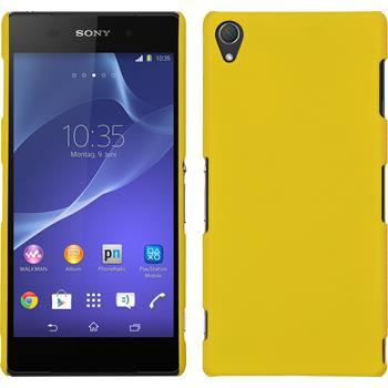 Hardcase for Sony Xperia Z3 rubberized yellow