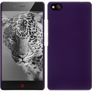 Hardcase for ZTE Nubia Z9 Max rubberized purple