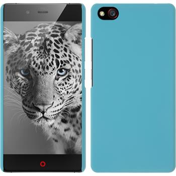 Hardcase for ZTE Nubia Z9 Mini rubberized light blue