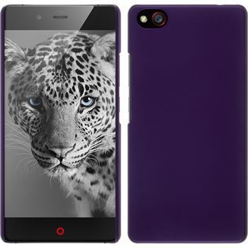 Hardcase for ZTE Nubia Z9 Mini rubberized purple