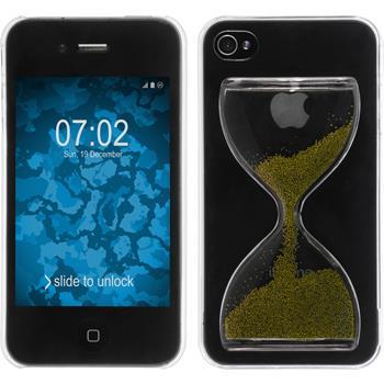 Hardcase iPhone 4S Sanduhr grasgrün