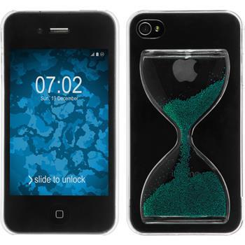 Hardcase iPhone 4S Sanduhr grün
