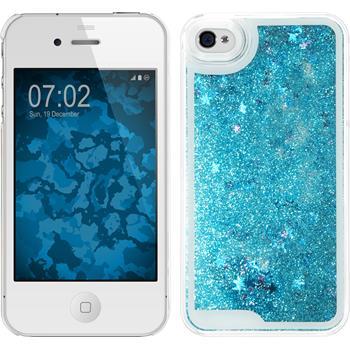 Hardcase iPhone 4S Stardust blau