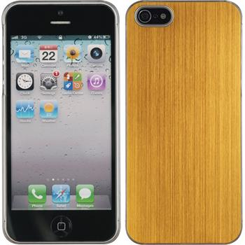 Hardcase iPhone 5 / 5s / SE Metallic gold