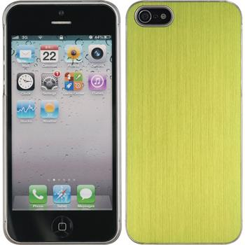 Hardcase for Apple iPhone 5 / 5s metallic green