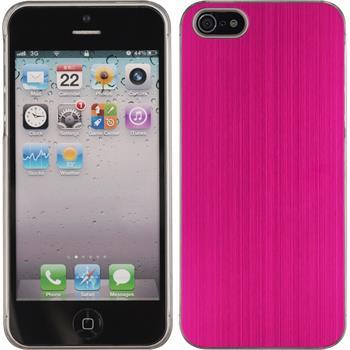 Hardcase iPhone 5 / 5s / SE Metallic pink
