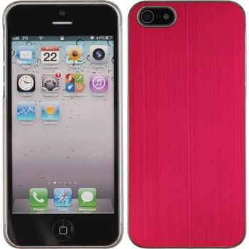 Hardcase iPhone 5 / 5s / SE Metallic rot