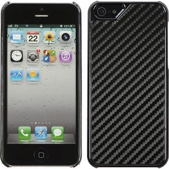 Hardcase for Apple iPhone 5 / 5s carbon optics black